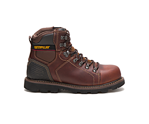 Alaska 2.0 Steel Toe Work Boot, Brown, dynamic