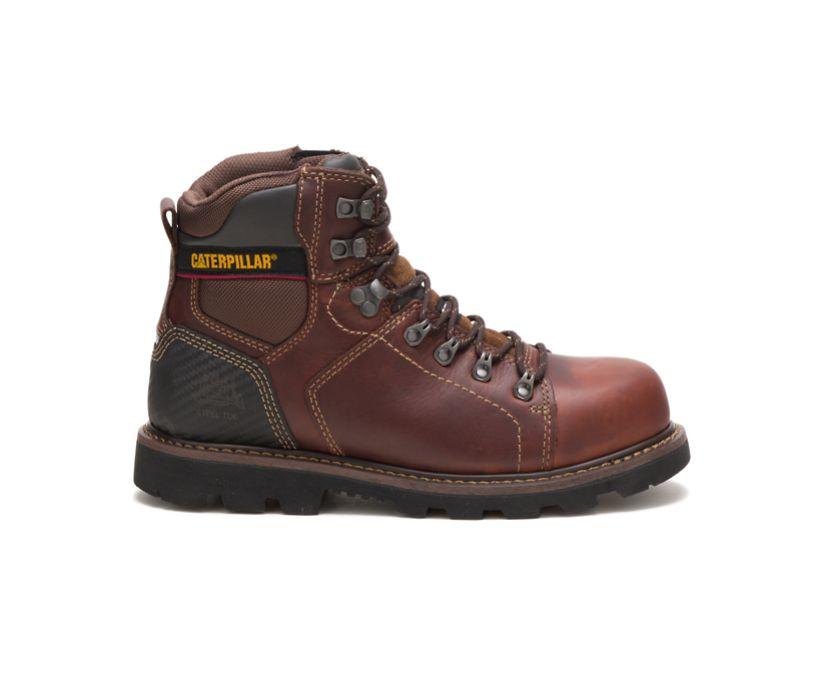 Alaska 2.0 Steel Toe Work Boot, Brown, dynamic