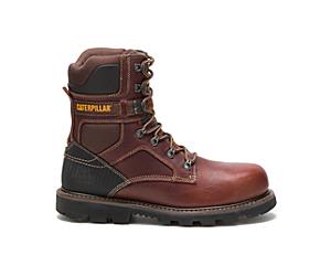 Indiana 2.0 Steel Toe Work Boot, Brown, dynamic