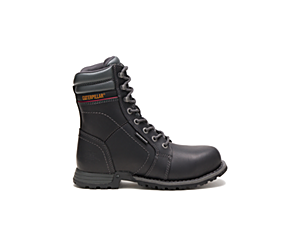 Echo Waterproof Steel Toe Work Boot, Black, dynamic