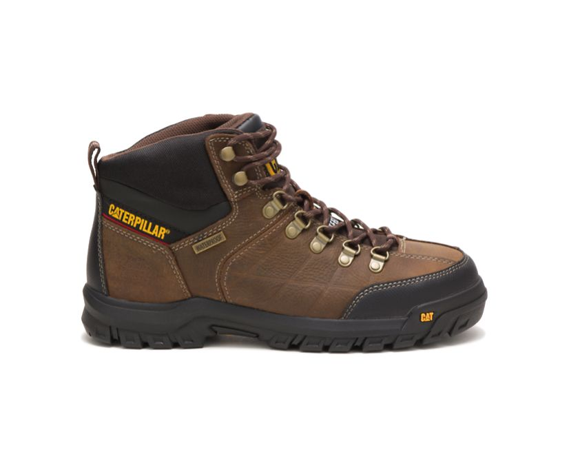 Threshold Waterproof Steel Toe Work Boot, Real Brown, dynamic