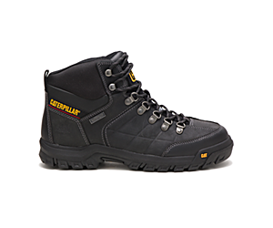 Threshold Waterproof Steel Toe Work Boot, Black, dynamic