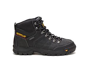 Threshold Waterproof Steel Toe Work Boot, Black, dynamic