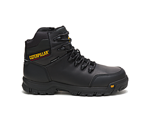 Resorption Waterproof Composite Toe Work Boot, Black, dynamic