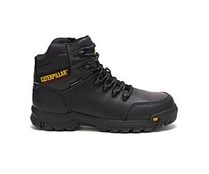 Resorption Waterproof Composite Toe Work Boot, Black, dynamic