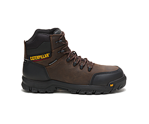 Resorption Waterproof Composite Toe Work Boot, Seal Brown, dynamic