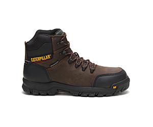 Resorption Waterproof Composite Toe Work Boot, Seal Brown, dynamic