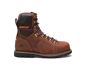 "Alaska 2.0 8"" Waterproof Thinsulate™ Steel Toe Work Boot, Walnut, dynamic"