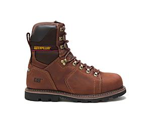 """Alaska 2.0 8"""" Waterproof Thinsulate™ Steel Toe Work Boot, Walnut, dynamic"""