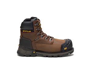"Excavator XL 6"" Waterproof Composite Toe Work Boot, Dark Brown, dynamic"