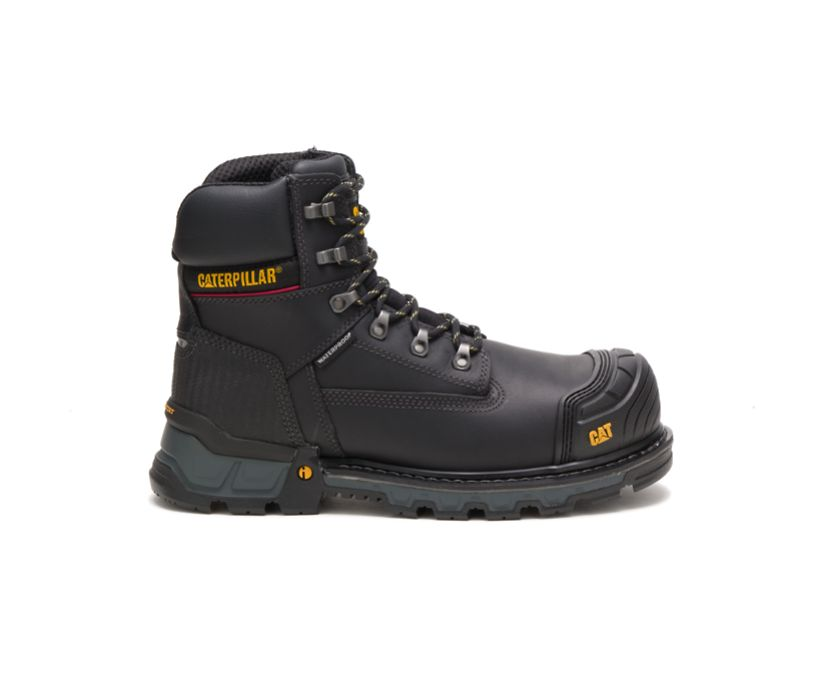 "Excavator XL 6"" Waterproof Composite Toe Work Boot, Black, dynamic"