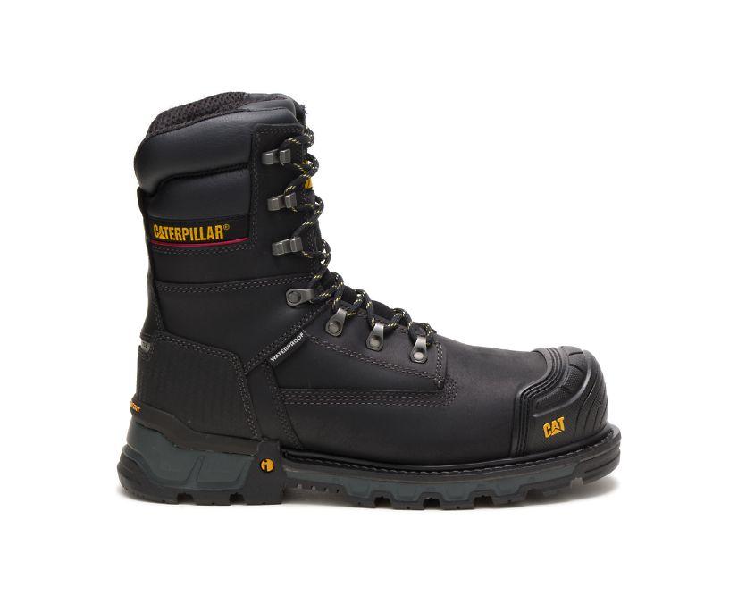 "Excavator XL 8"" Waterproof Thinsulate™ Composite Toe Work Boot, Black, dynamic"