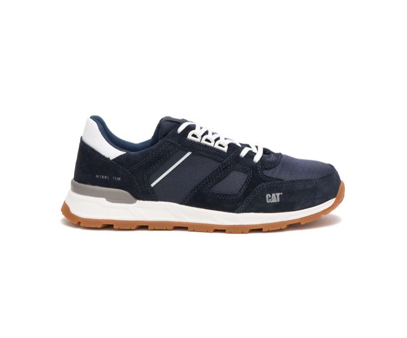 Woodward Steel Toe Work Shoe, Blue Nights, dynamic