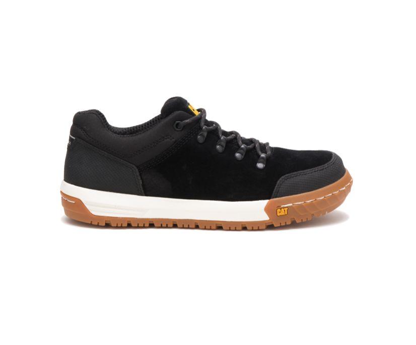 Converge Steel Toe Work Shoe, Black, dynamic