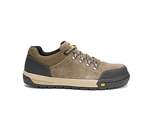 Converge Steel Toe Work Shoe, Olive, dynamic
