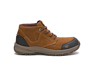 Resolve Mid Composite Toe Work Shoe, Brown, dynamic
