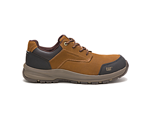 Resolve Composite Toe Work Shoe, Brown, dynamic