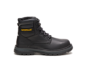Fairbanks Steel Toe Work Boot, Black, dynamic
