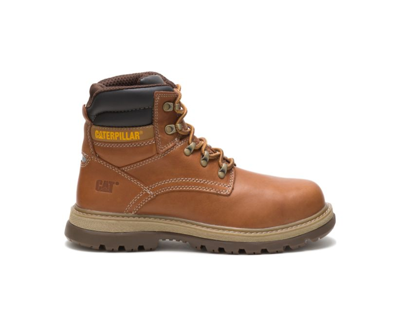 Fairbanks Steel Toe Work Boot, Trail, dynamic