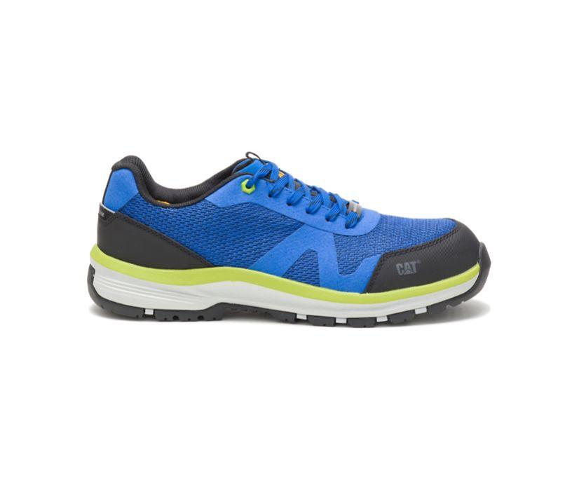 Passage Composite Toe Work Shoe, Blue, dynamic