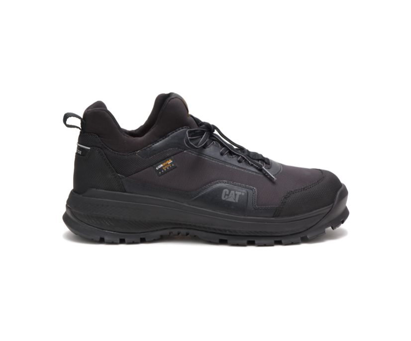 Engage Alloy Toe Work Shoe, Black, dynamic