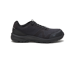 Passage Composite Toe Work Shoe, Black, dynamic