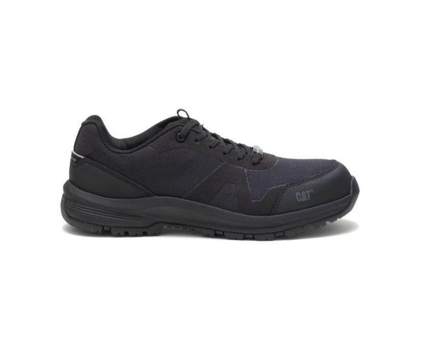 Passage Composite Toe Work Shoe, Black, dynamic