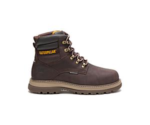 """Fairbanks 6"""" Waterproof Steel Toe Work Boot, Mulch, dynamic"""