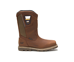 Stillwell Waterproof Steel Toe Work Boot, Butterscotch, dynamic