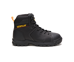 Wellspring Waterproof Metatarsal Guard Steel Toe Work Boot, Black, dynamic