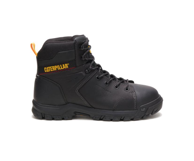 Wellspring Waterproof Metatarsal Guard Steel Toe Work Boot, Black, dynamic