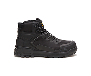 Propulsion Waterproof Composite Toe Work Boot, Black, dynamic