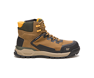 Propulsion Waterproof Composite Toe Work Boot, Golden, dynamic