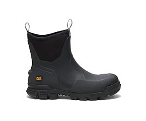 """Stormers 6"""" Steel Toe Work Boot, Black, dynamic"""
