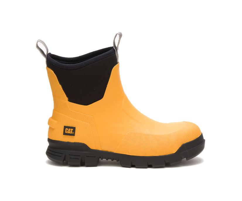 """Stormers 6"""" Steel Toe Work Boot, Cat Yellow, dynamic"""