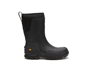 """Stormers 11"""" Steel Toe Work Boot, Black, dynamic"""