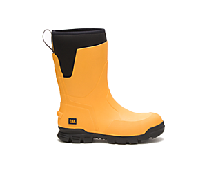 """Stormers 11"""" Steel Toe Work Boot, Cat Yellow, dynamic"""