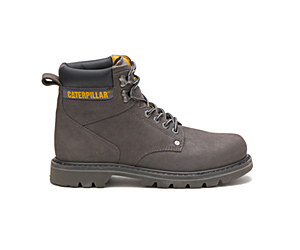 Second Shift Steel Toe Work Boot, Medium Charcoal, dynamic