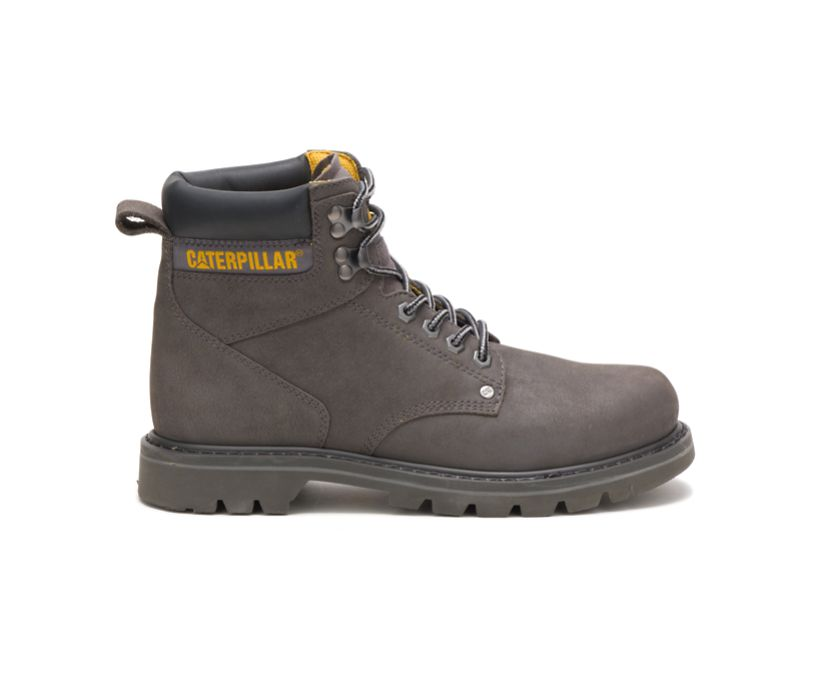 Second Shift Steel Toe Work Boot, Medium Charcoal, dynamic