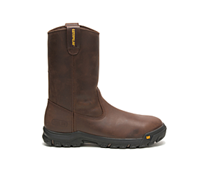 Drawbar Steel Toe Work Boot, Summer Brown, dynamic