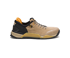 Sprint Suede Alloy Toe Work Shoe, Cornstalk, dynamic