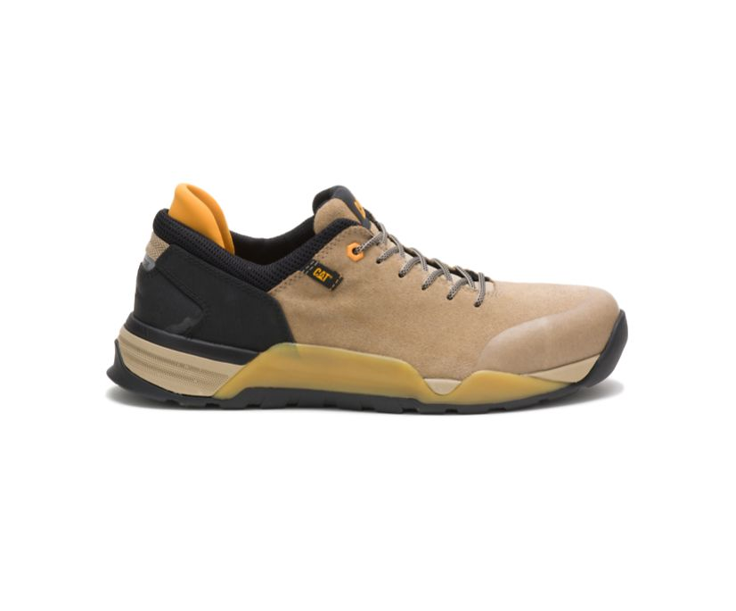 Sprint Suede Alloy Toe Work Shoe, Cornstalk, dynamic