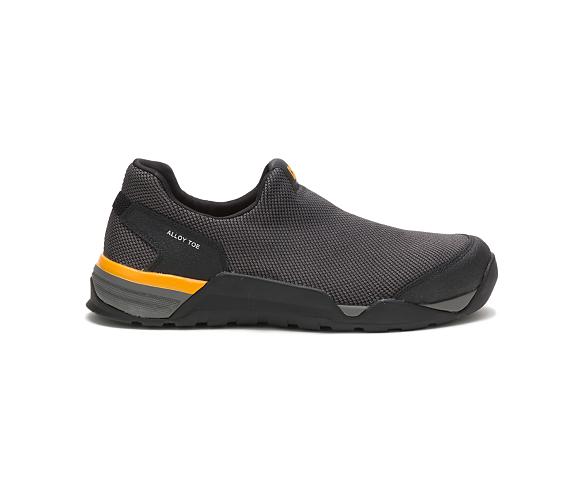 Sprint Moc Alloy Toe Work Shoe, Black, dynamic