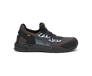 Sprint Textile Alloy Toe Work Shoe, Black, dynamic