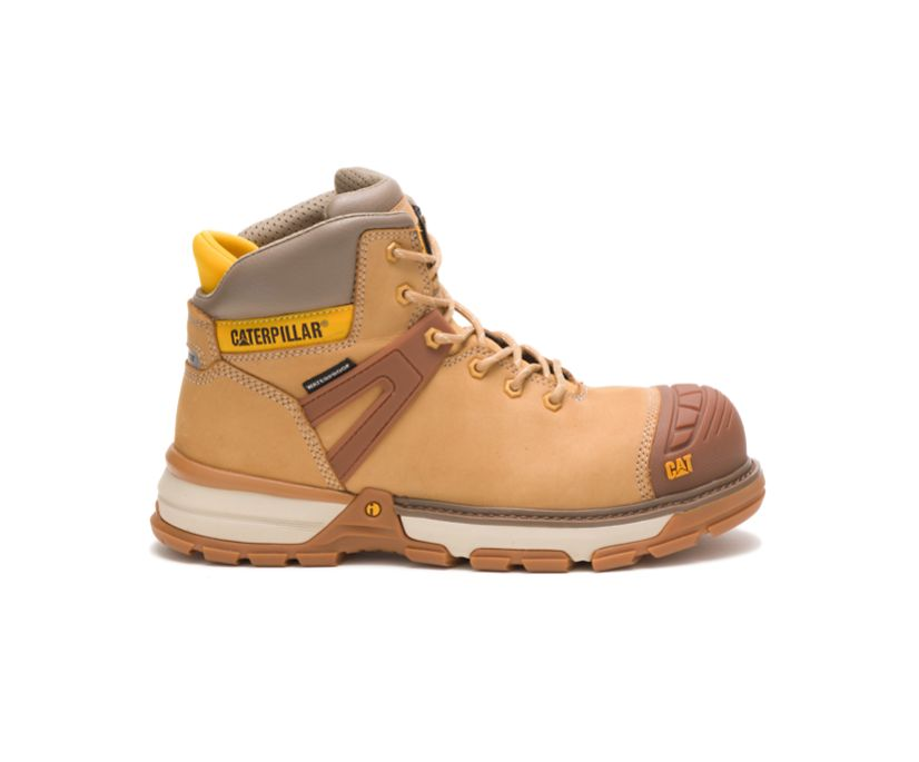 Excavator Superlite Waterproof Nano Toe Work Boot, Honey Reset, dynamic