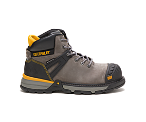 Excavator Superlite Waterproof Nano Toe Work Boot, Pewter, dynamic
