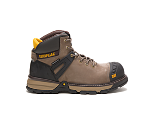 Excavator Superlite Waterproof Nano Toe Work Boot, Bungee Cord, dynamic