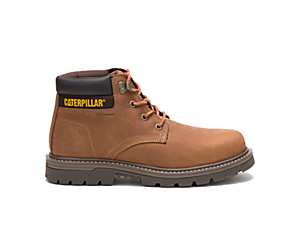 Outbase Waterproof Steel Toe Work Boot, Brown, dynamic