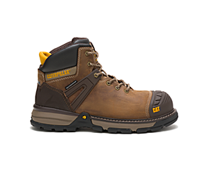 Excavator Superlite Waterproof Nano Toe Work Boot, Dark Biege, dynamic