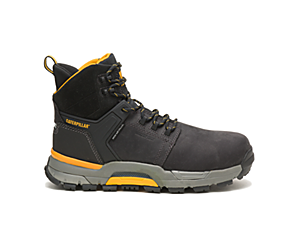 CAT EDGE Waterproof Nano Toe Work Boot, Black, dynamic